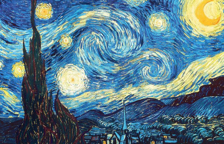 Έναστρη νύχτα του Vincent Van Cogh