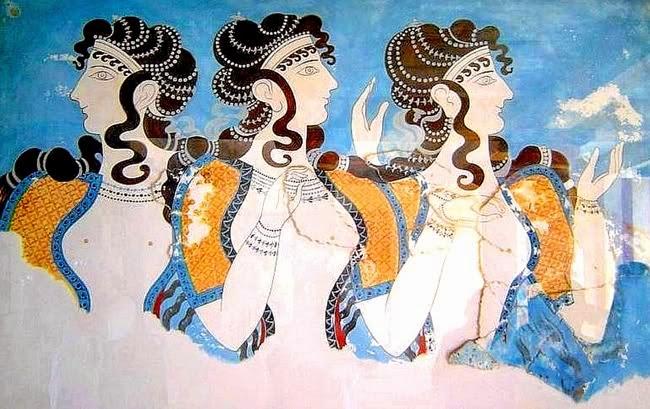 Γυναίκες της Μινωικής Κρήτης