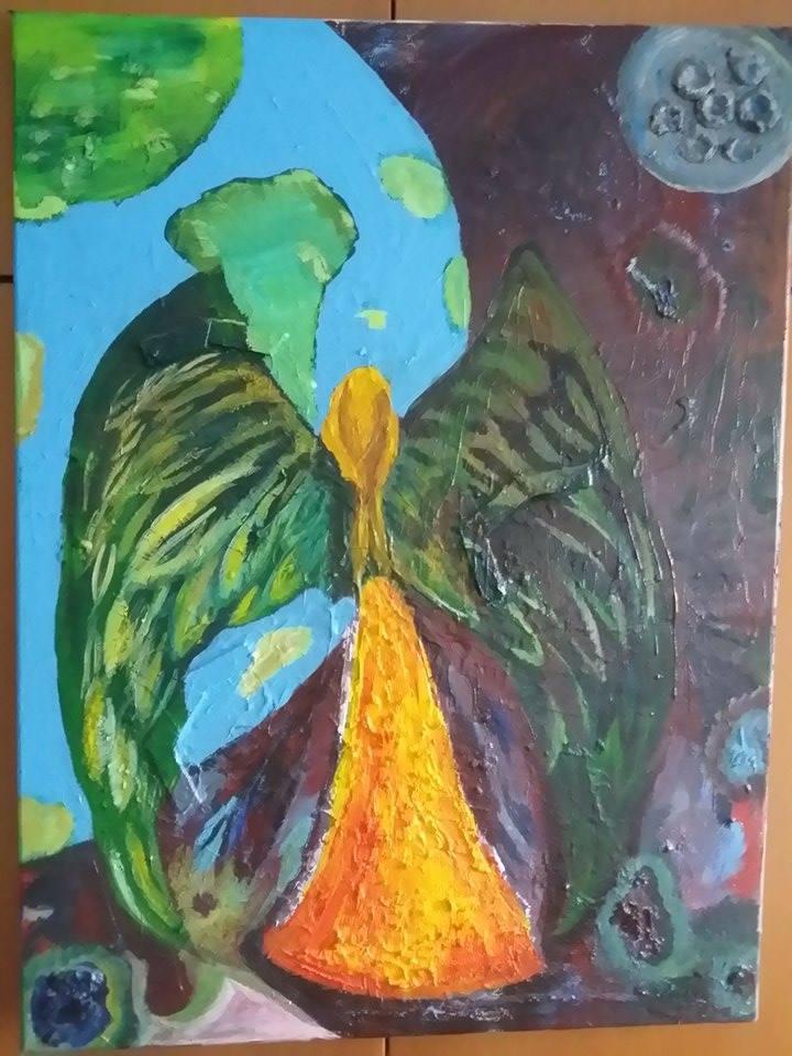 """Ο πίνακας της ημέρας: """"Χαμένες πατρίδες"""" του Ευαγόρα Ιωάννου"""
