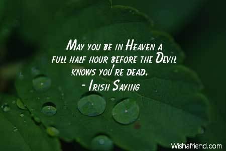 …Πριν ο Διάολος καταλάβει πως πέθανες…
