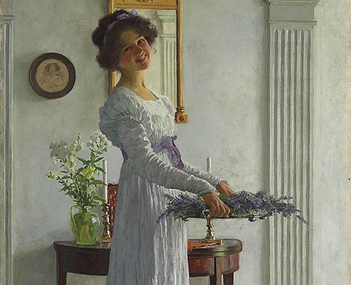 Το κορίτσι με την λεβάντα – William Henry Margetson