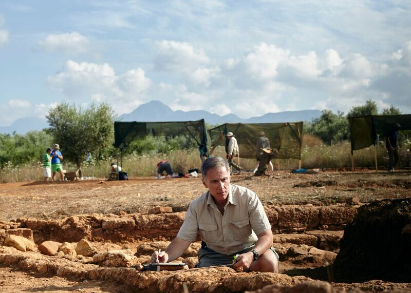 Archeology Professor Michael Cosmopoulos major discovery at Pylos
