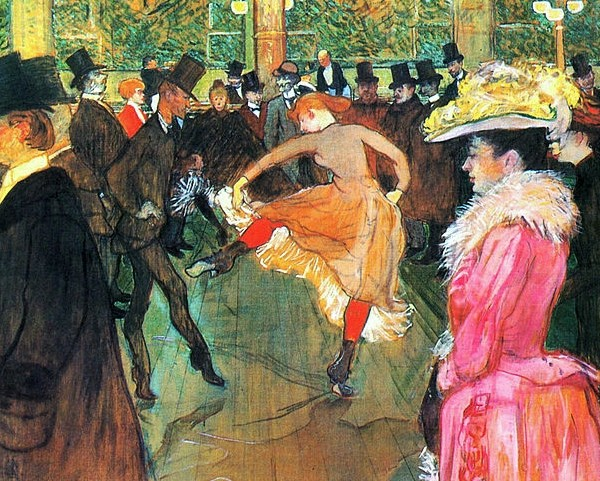 Ο χορός στο Μουλέν Ρουζ – Τουλούζ Λωτρέκ