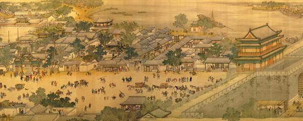Στο φεστιβάλ Qingming – Ζωγραφική σε μετάξι