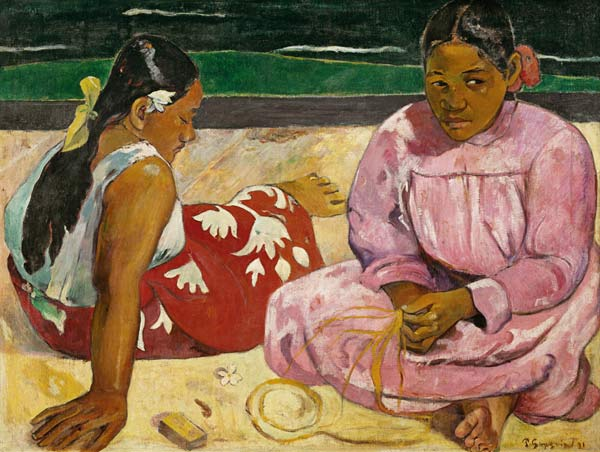 Γυναίκες στην παραλία – Πωλ Γκωγκέν