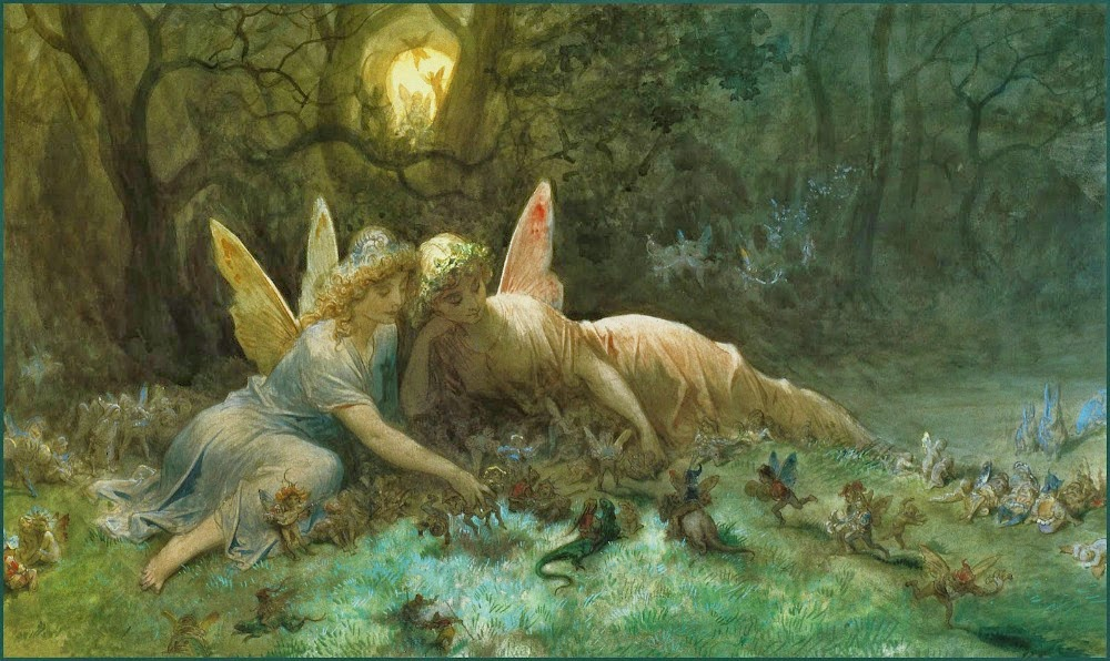 Νεράιδες – Gustave Doré