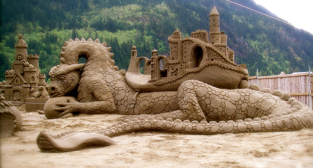 Δράκος από άμμο – Walter McDonald και William Lloyd