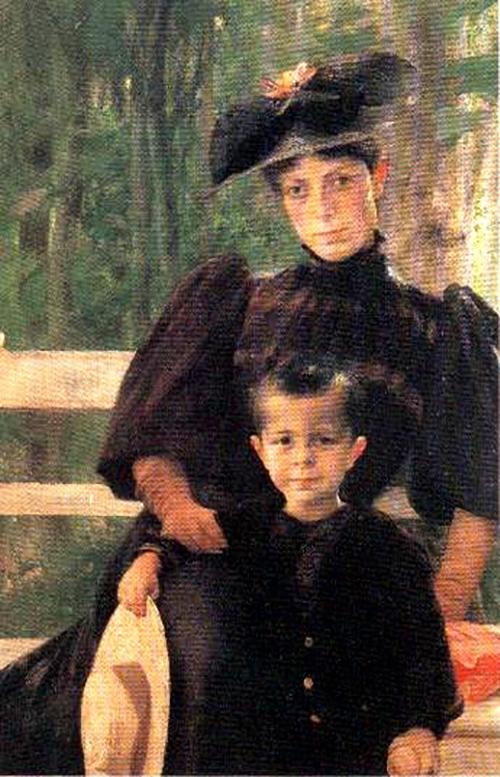 Μητέρα και παιδί – Γεώργιος Ιακωβίδης