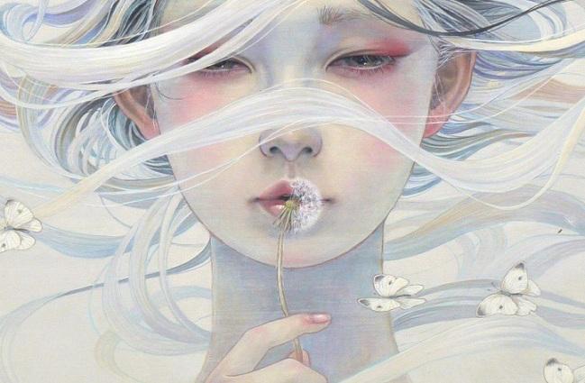 Αιθέρια λευκή γυναίκα – Miho Hirano