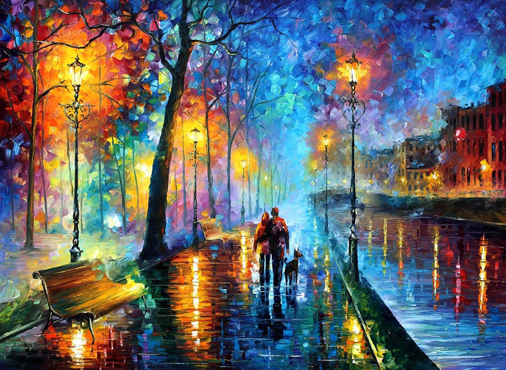 Νυχτερινή μελωδία – Leonid Afremov