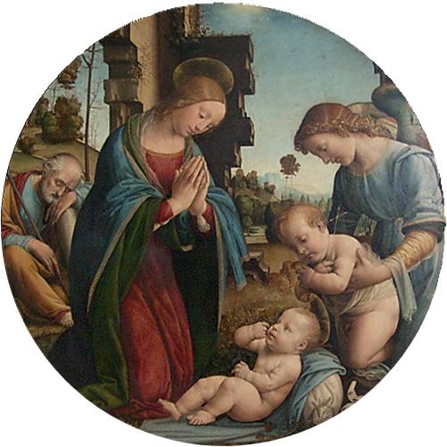 Γέννηση του Θείου Βρέφους – Lorenzo di Credi