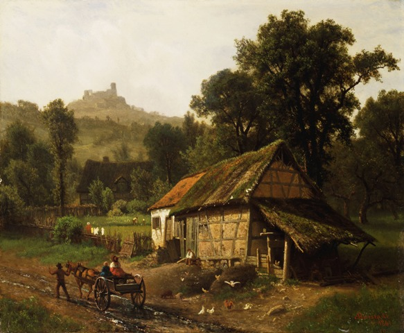 In the Foothills (1861)