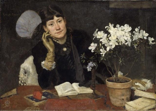 The artist, Julia Beck