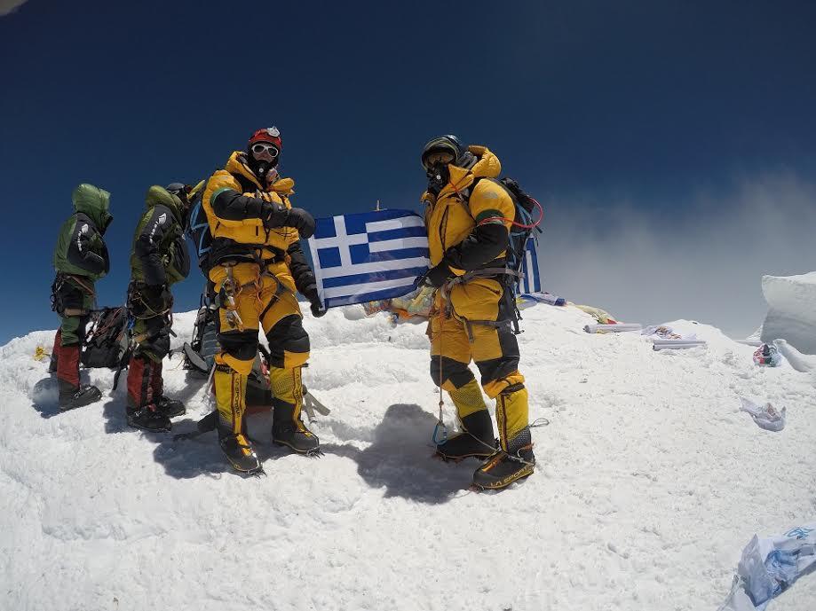 «Οι Έλληνες στην κορυφή του Έβερεστ» στη Δροσιά