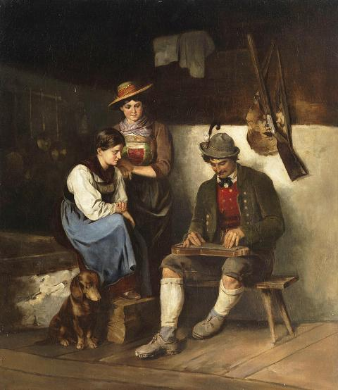 The zither player