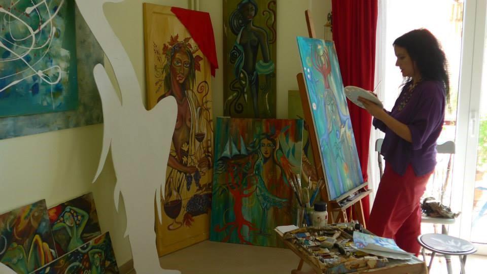 Μια ζωγράφος εξομολογείται…Ζωή Νικητάκη
