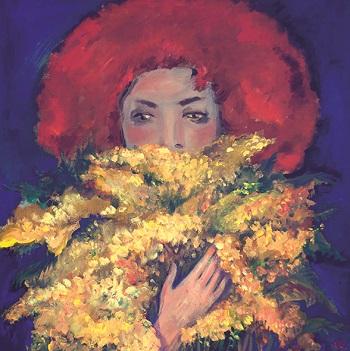 Πολιτιστικός Τουρισμός στη Σαντορίνη   Ένα λουλούδι για ένα Ποίημα – Ομαδική Έκθεση Ζωγραφικής