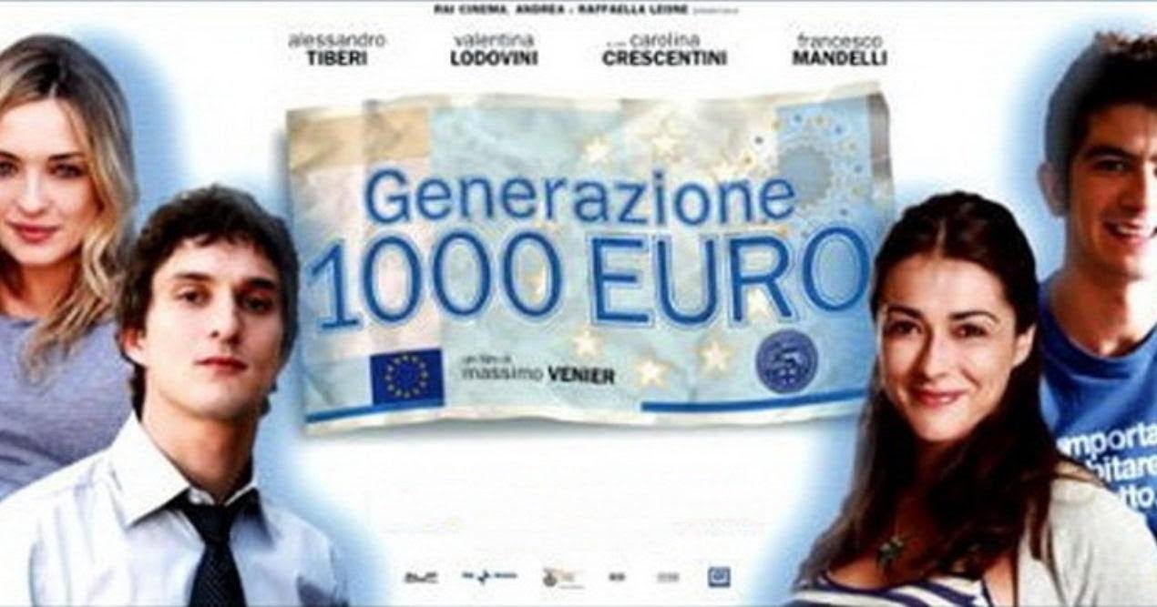 ΗΜΕΡΕΣ ΚΙΝΗΜΑΤΟΓΡΑΦΟΥ ΣΤΗ ΔΡΟΣΙΑ «Η γενιά των 1000 e» του Massimo Venier