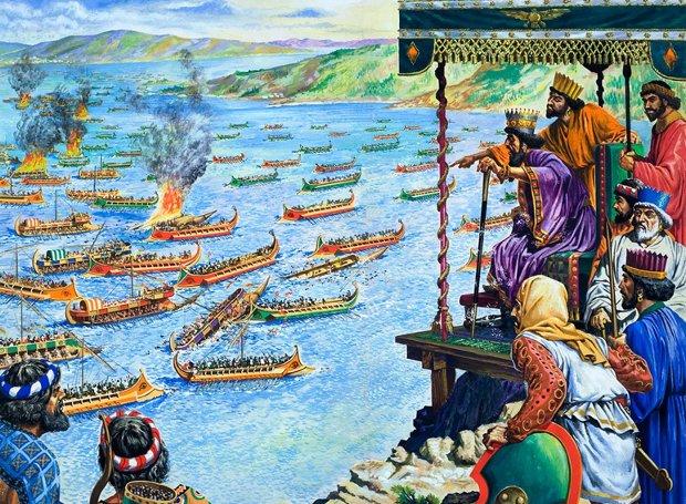 Ενδιαφέρουσα εκδήλωση για τη Ναυμαχία της Σαλαμίνας