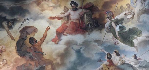 Τοξότης και ο θεός Δίας