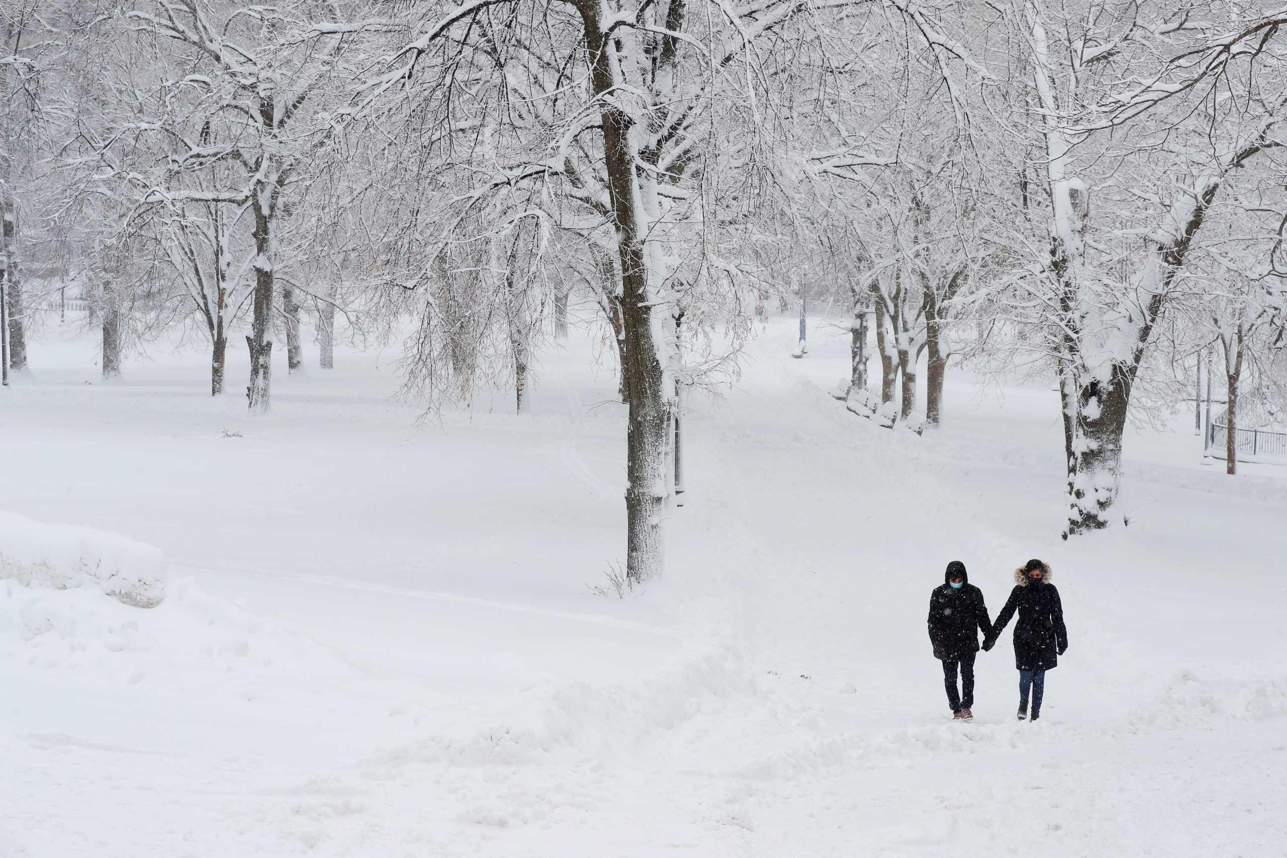 Η ησυχία του χιονιού