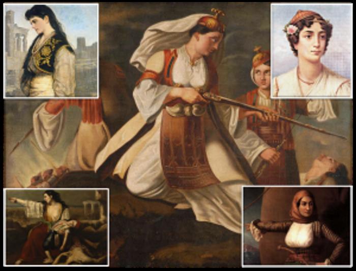 Ηρωίδες της Ελληνικής Επανάστασης