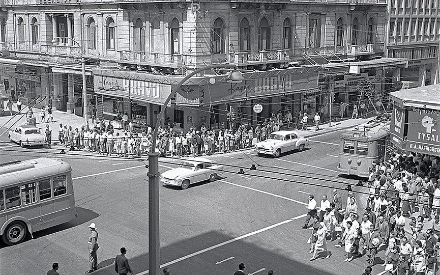 Φωτογραφικό ταξίδι στην διαφορετική Αθήνα του '60