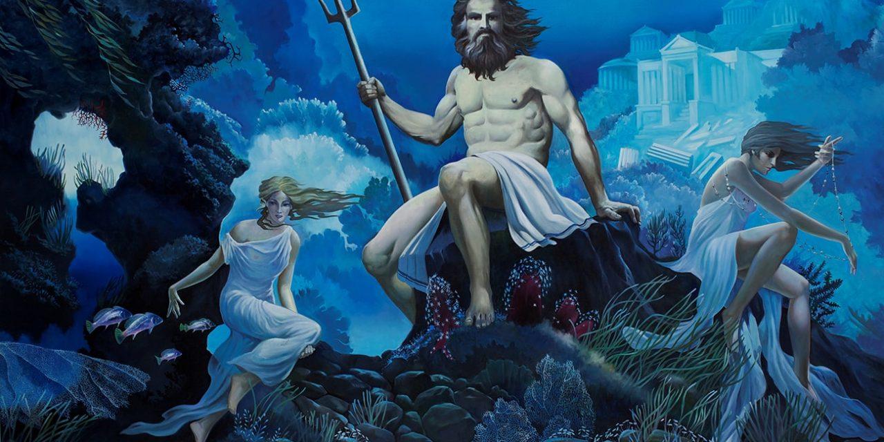 Ιχθείς και ο θεός Ποσειδώνας