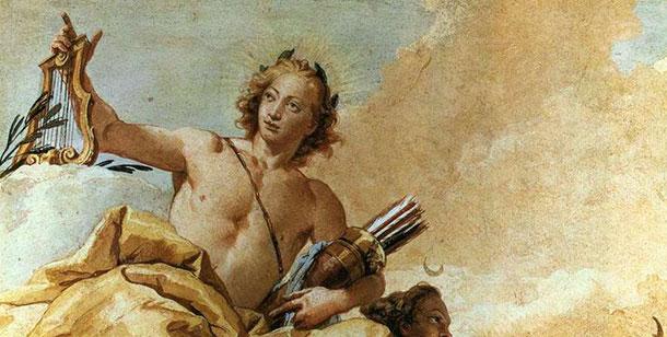 Λέων και ο Θεός Απόλλων