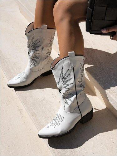 Ένα ζευγάρι καουμπόϊκες μπότες…